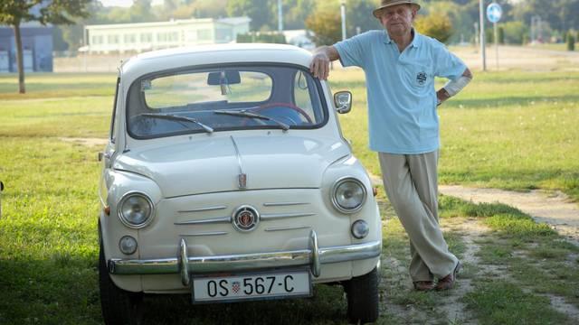 Josip (90): 'Fiću vozim već 53 godine i još ga sam popravljam'