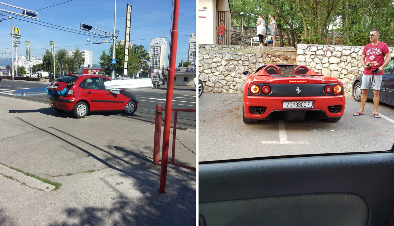 'Crveni bolidi': Jedan prevozi limove, a drugi bahato parkira