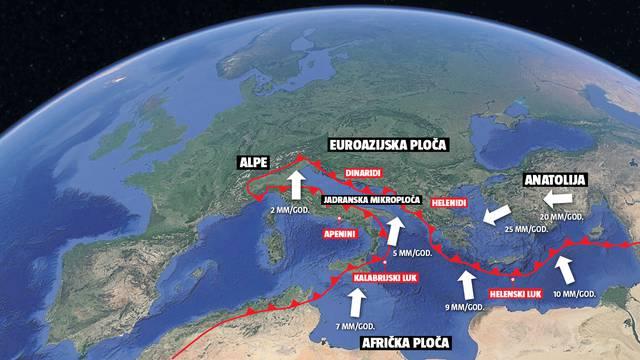 Na jugu Hrvatske moguć potres kakav je 1667. srušio Dubrovnik - prouzročio je i tsunami...