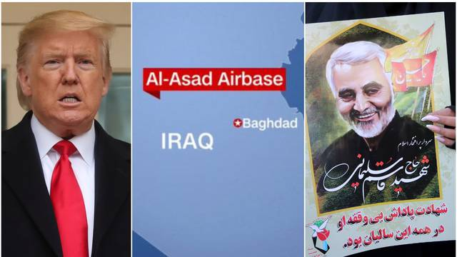 Napali američku vojnu bazu u Iraku i pogodili s 10 projektila