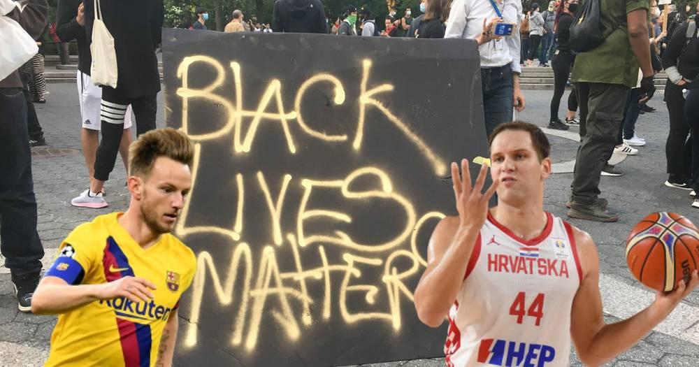 Rakitić i Bogdanović priključili se pokretu za Floyda: Babin je video sve posebno oduševio...