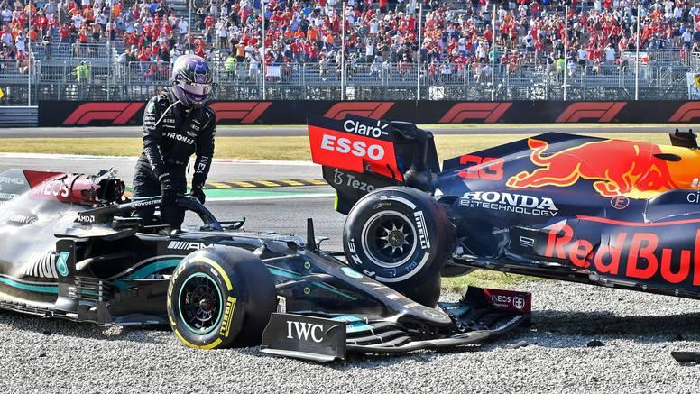 Verstappena kaznili za sudar, a Hamilton kaže: Nije popuštao...