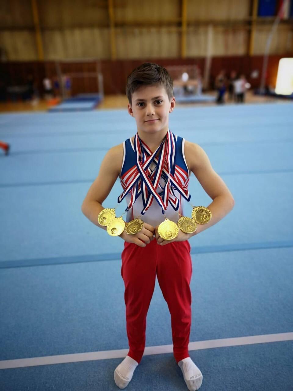 Gimnastičko čudo Niko osvojio šest zlata: Imam solidne mišiće