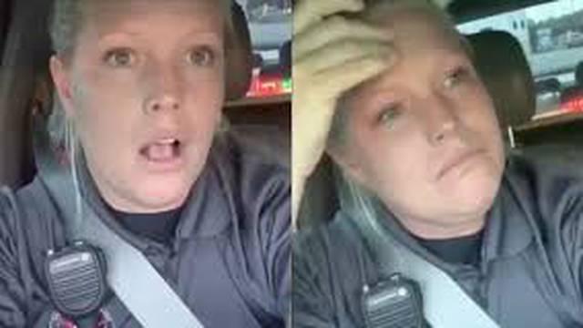 Policajka plakala jer nije dobila sendvič: Za sve je 'kriv' Floyd