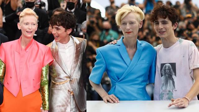 Baš su chic: Tilda i Timothée imaju divne modne kombinacije