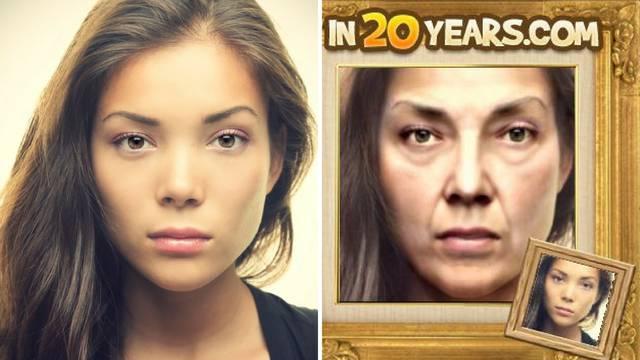 Pogledajte kako ćete izgledati za 20 godina - po svojoj fotki
