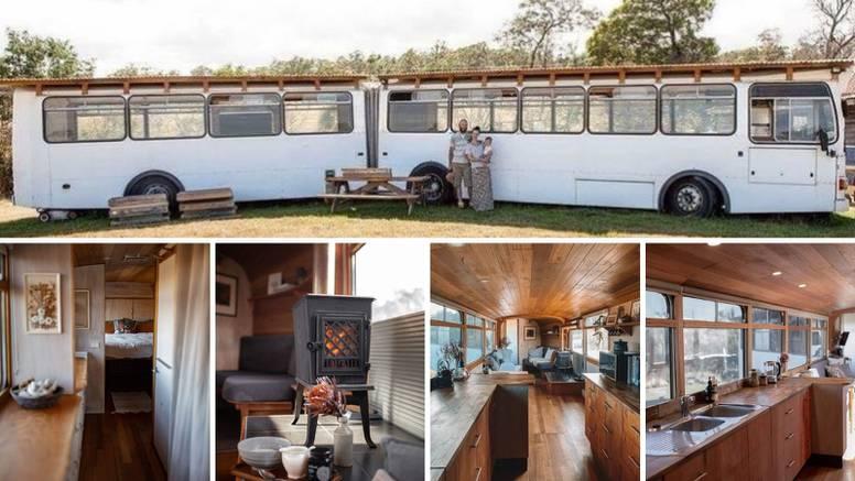 Autobus pretvorili u dom iz snova: Živjeli su u njemu dvije godine, a sada ga iznajmljuju