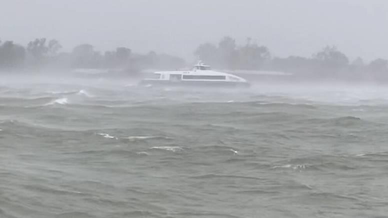 Uragan preokrenuo tok rijeke Mississippi: 'Ovo je ekstremno, dogodilo se kad je bila Katrina'