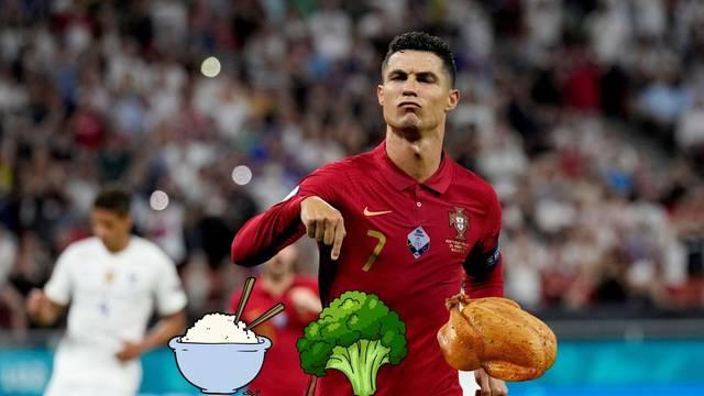 Evo koje su tri jedine namirnice koje jede Cristiano Ronaldo!