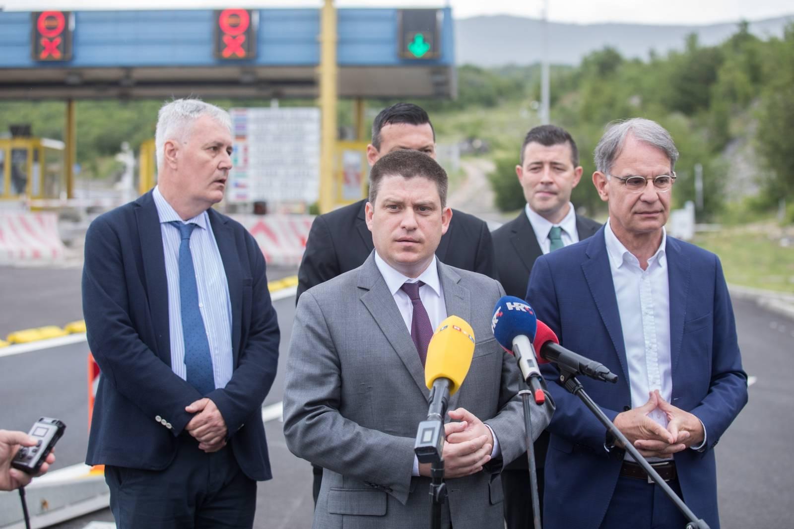 Rijeka: Svečano obilježavanje ukidanja mostarine na Krčkom mostu