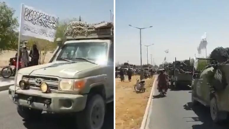 Talibani u Kandaharu napravili mimohod američkim vozilima