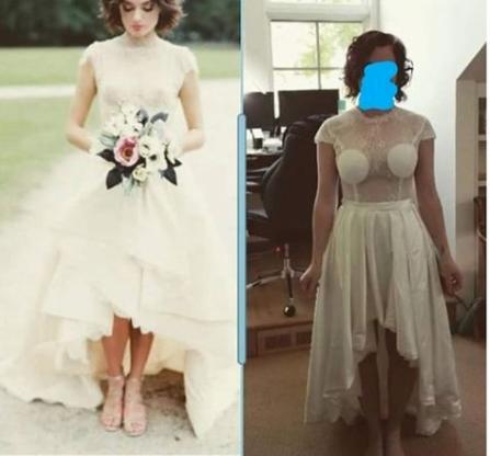Naručila prekrasnu vjenčanicu, a evo što je dobila - nigdje veze