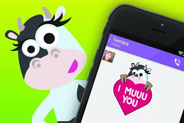 Zdrava Krava Viber stickeri ljetni su hit! Skini ih i ti!