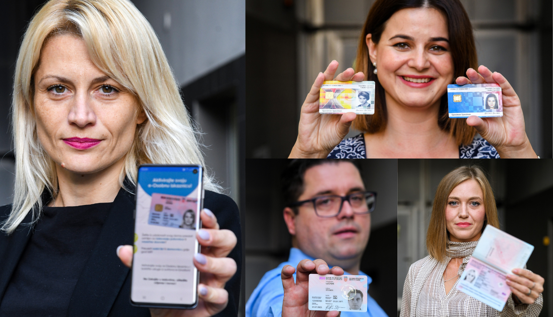 Oni su Specimeni - lica s iksica, iskaznica i putovnica: Marina, Kristina, Ana i Krešimir