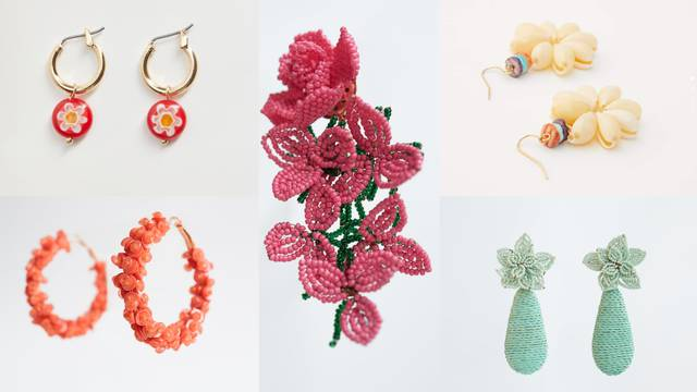 Tako nježne: Top 10 naušnica inspiriranih cvijećem i laticama