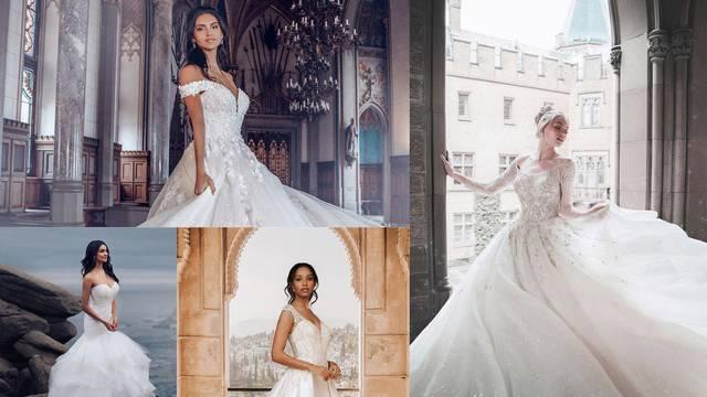 Čarobne vjenčanice iz pravih bajki inspirirane Jasminom, Arielom, Tianom, Pepeljugom