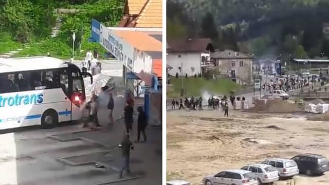 Krvava tučnjava u BiH: Letjelo je kamenje, a tuklo se palicama