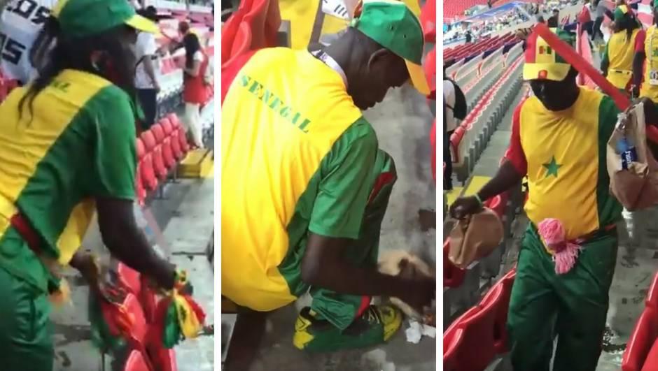 Bravo, Senegalci! Navijači su nakon pobjede - čistili stadion