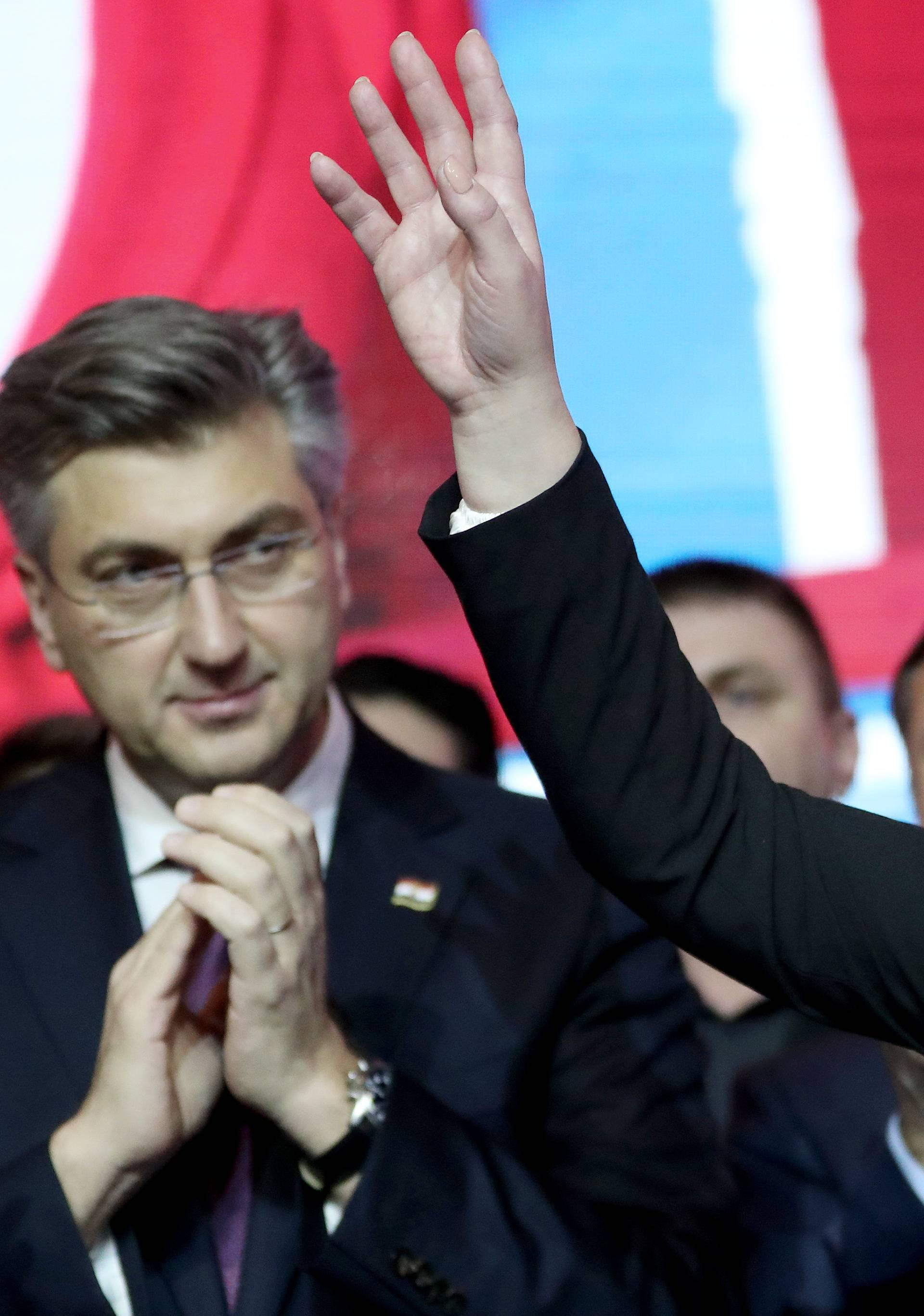 Kolinda Grabar-Kitarović održala govor i čestitala novoizabranom predsjedniku Milanoviću