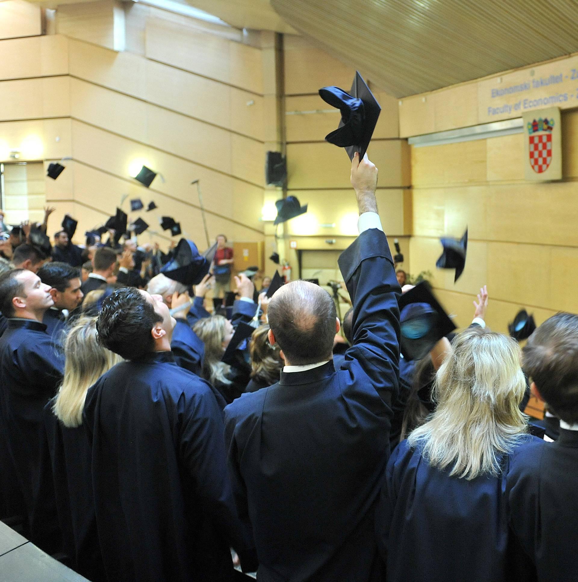 Na fakultetima je ostalo tisuće slobodnih mjesta nakon rokova