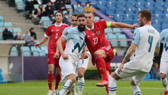 World Cup Qualifiers Europe - Group H - Russia v Slovenia