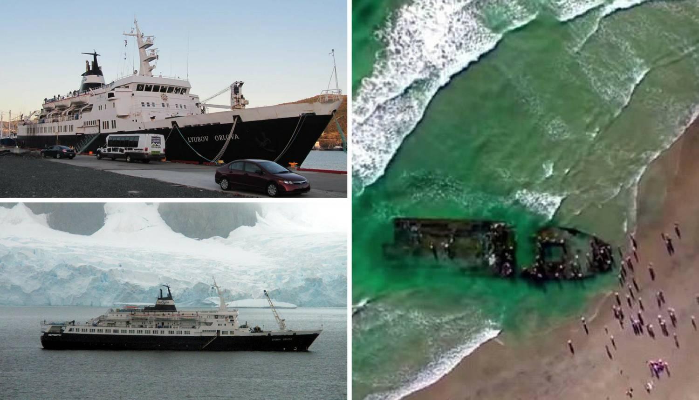 Ukleti Titov brod duhova se nasukao na obalu Kalifornije?