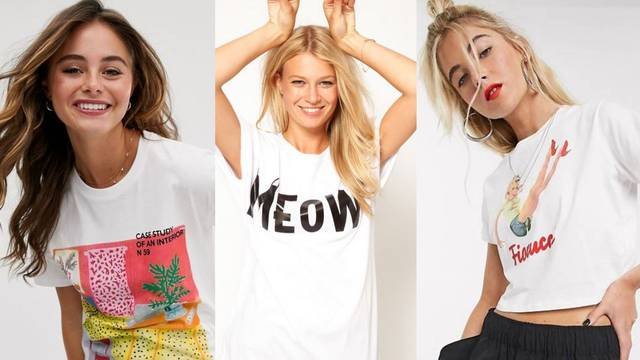 Klasik u svakom ormaru: Bijela majica s različitim grafizmima