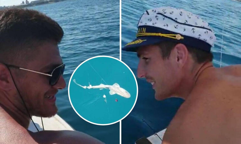 Baby shark kod Splita: Hrvatski rukometaši ulovili morskog psa