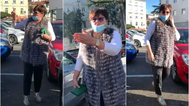 Doktorica iz KBC Rijeka čovjeku zagradila auto pa mu prijetila: Kad ti bude slabo srest ćemo se!