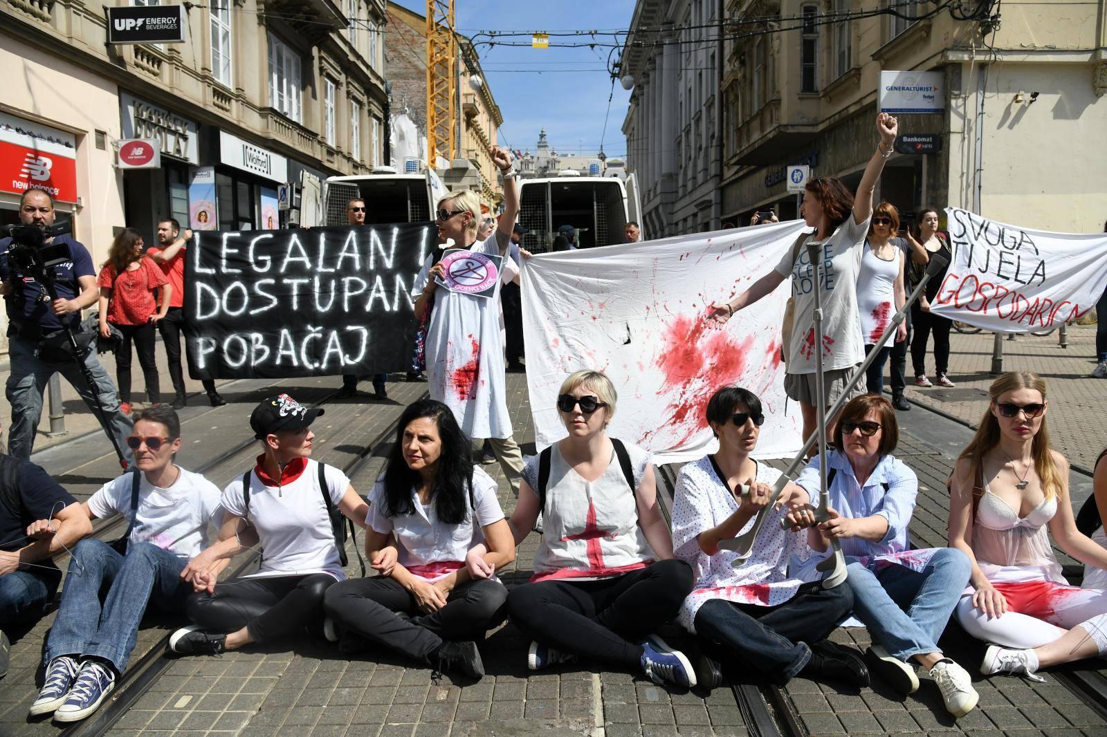 Prosvjednici s 'Hoda za život' kažnjeni s 300 do 650 kuna