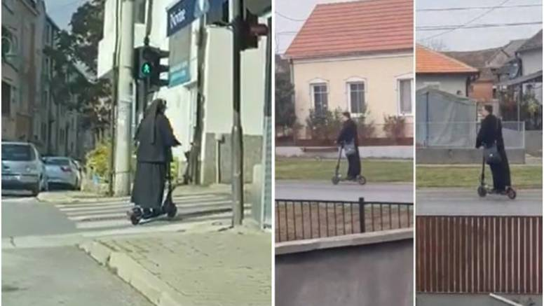 Časna 'posudila' popmobil od svećenika: Sestro, gdje juriš, a crveno ti je na semaforu?