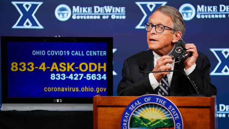 Američki guverner: 'Pet sretnih dobitnika  dobit će  milijun dolara, ali samo ako se cijepe'