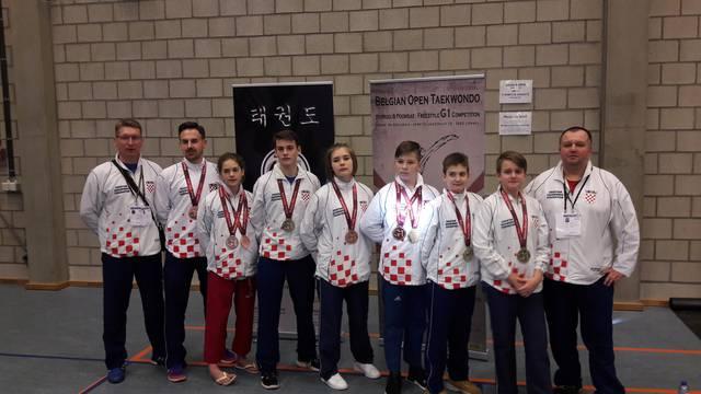 Hrvatski taekwondoaši vratili su se iz Belgije sa šest medalja