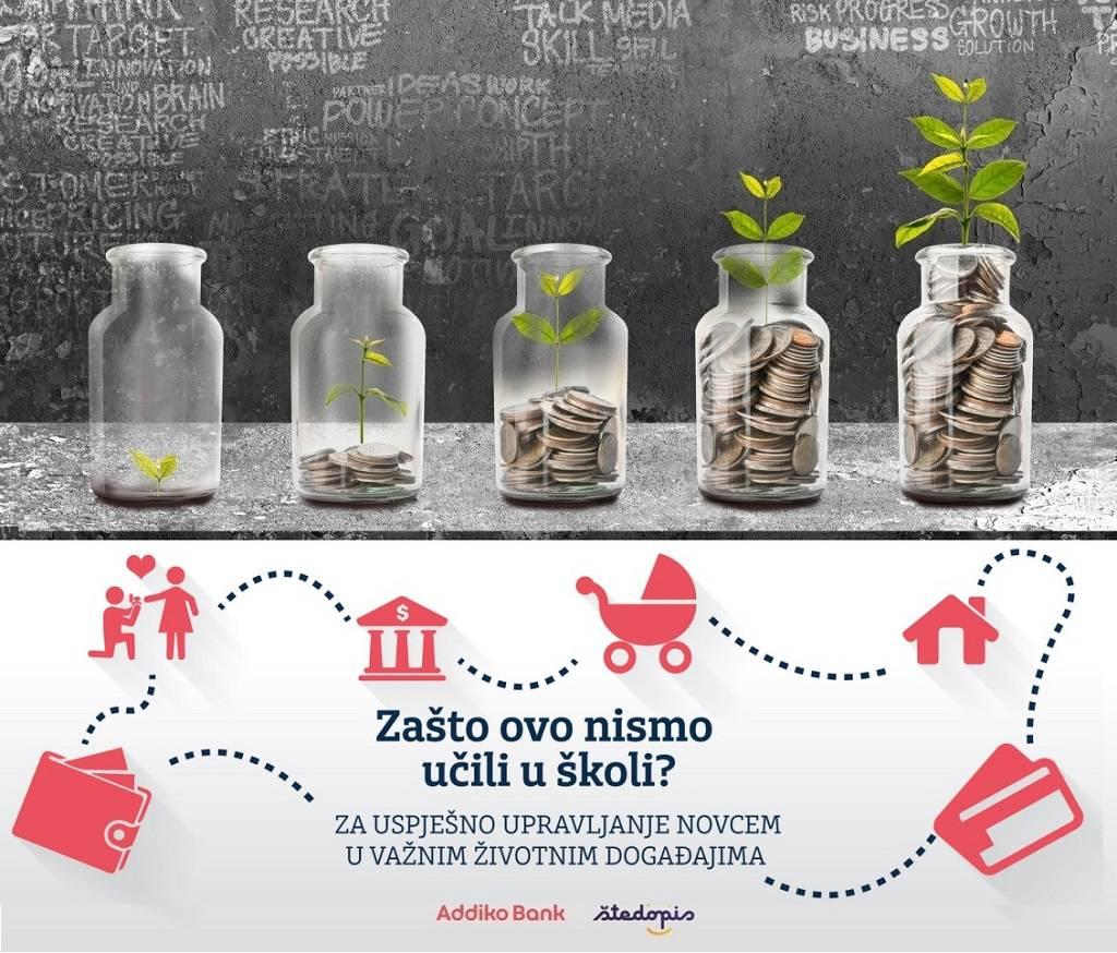 Hrvati imaju 60 postotno znanje o osnovama osobnih financija