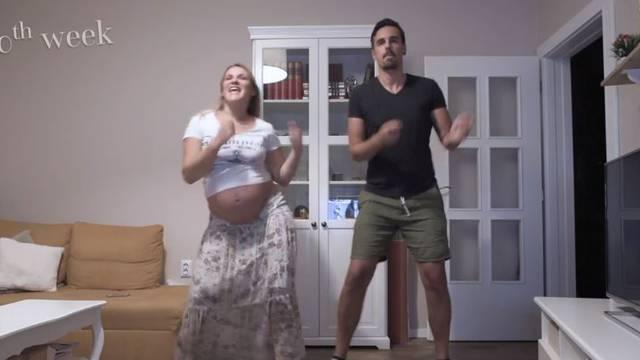 Riječki par snimao svoj ples u trudnoći: Leone, ovo je za tebe