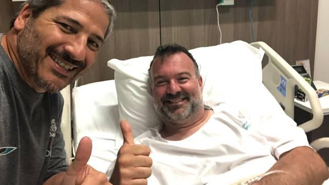 Hrvat koji je stradao na reliju oporavlja se u bolnici u Limi