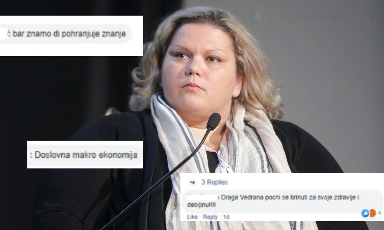 Hrvatska ekonomistica: Zbog debljine me stalno zlostavljaju