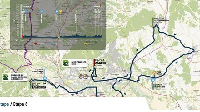 Moguće gužve  i zastoji zbog biciklističke utrke u Zagrebu
