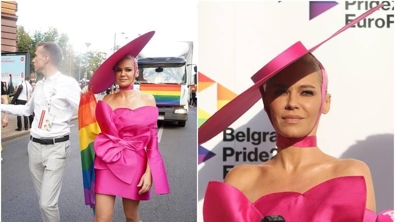 Nataša Bekvalac posjetila je 'Beograd pride': 'Nisam ovdje kao podrška, već kao dio nje'