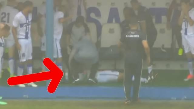 Šok u Brazilu! Nogometaša je usred utakmice pogodila munja