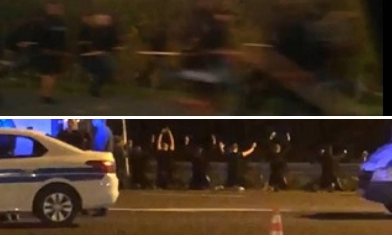 Snimili su huligane kako trče s palicama na A3 blizu Ježeva...