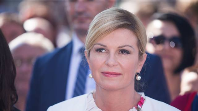 Aljmaš: Predsjednica Grabar-Kitarović prisustvovala misnom slavlju na blagdan Velike Gospe