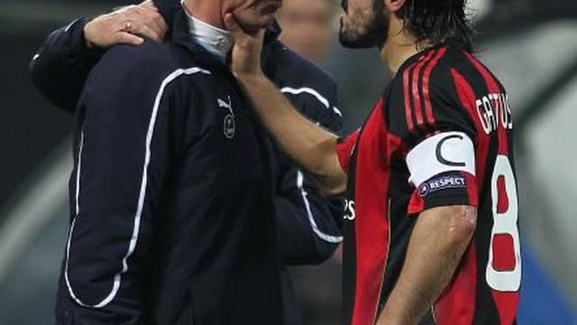Soccer - UEFA Champions League - Round of 16 - First Leg - AC Milan v Tottenham Hotspur - San Siro