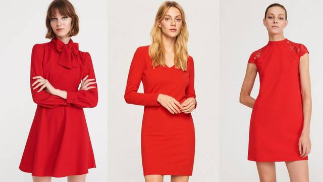 Mala i kratka crvena haljina: Za one koje žele upečatljivi styling