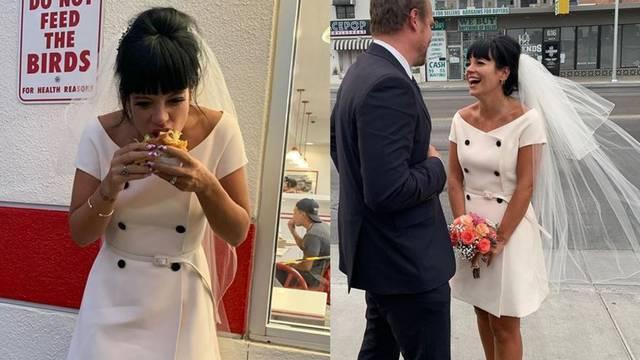 Lily Allen se udala u kratkoj retro haljini modne kuće Dior