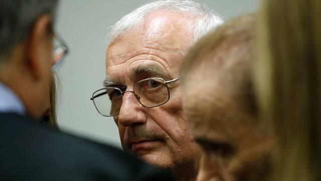 Defendant Perkovic, former member of Yugoslav secret service awaits trial in Munich