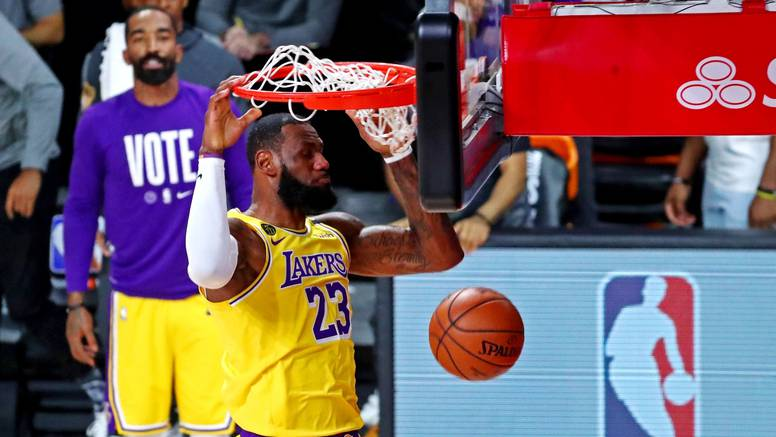 Adebayo se vratio, a LeBron 'poludio': Lakersi blizu titule