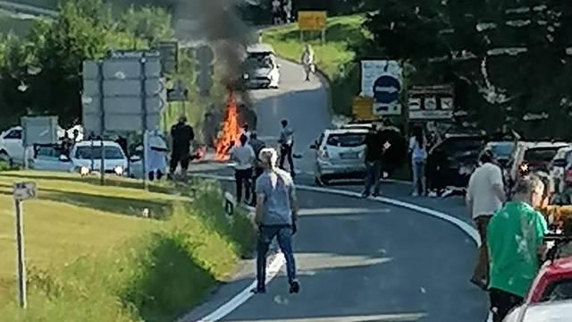 Za nesreću kod Rakovice kriv je Litvanac, autom je naletio na motociklista koji je poginuo