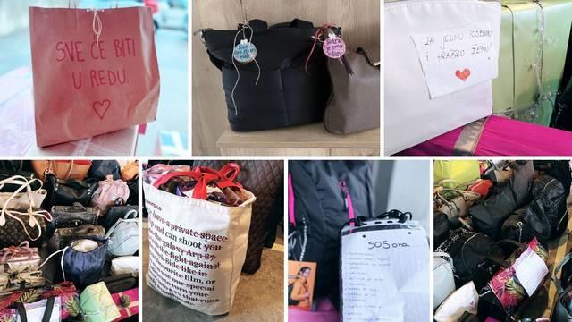 Facebook grupa 'SOS ona' puni ženske torbe malim, ali bitnim stvarima za žene u potresu