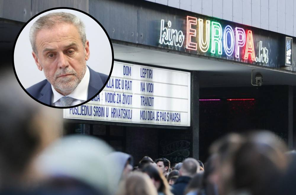 'Zagreb 1. lipnja zatvara kino Europa, provodi se kulturocid'
